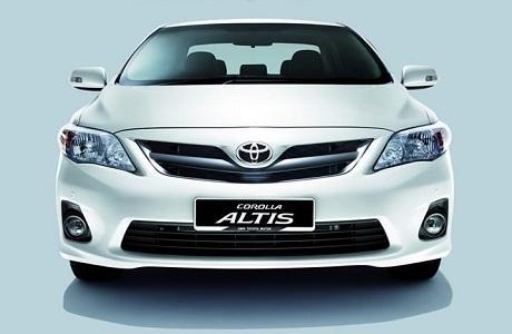 Xe Toyota Altis 05 chỗ